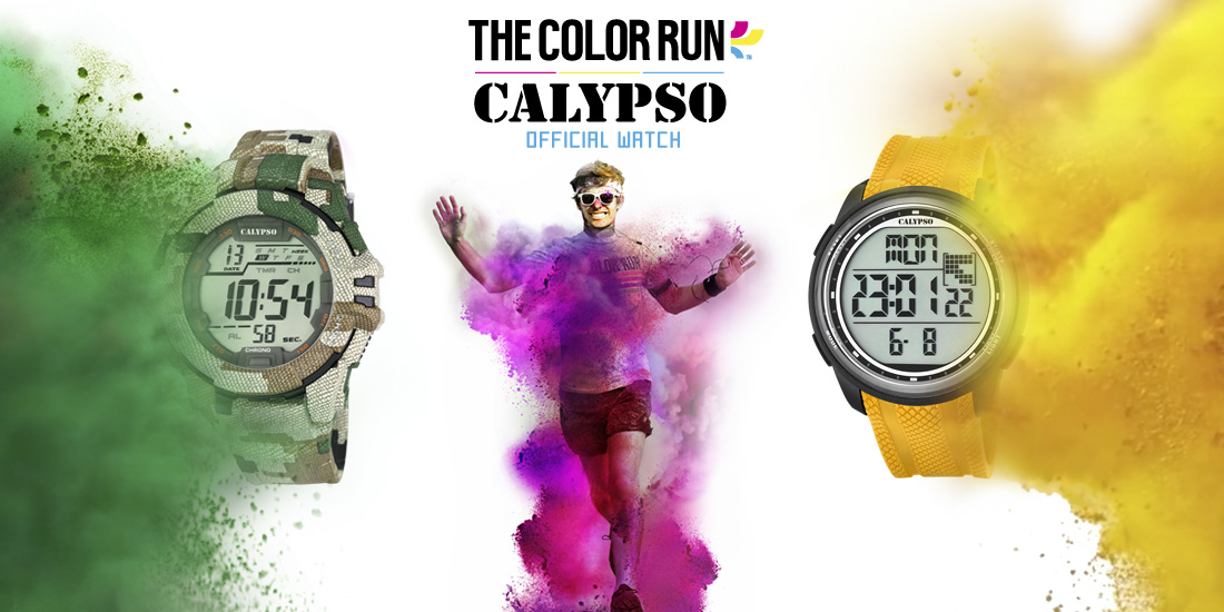 Calypso Watches The Color Run